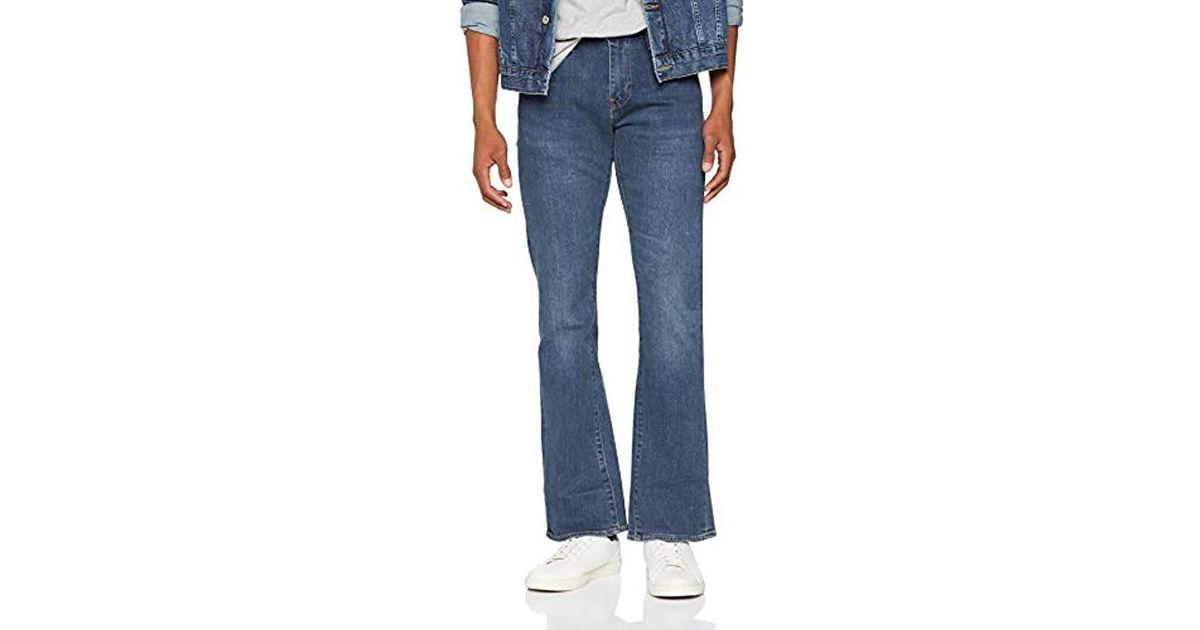 113616da8c50a Levi's Blue 527 Slim Boot Cut Bootcut Jeans for men