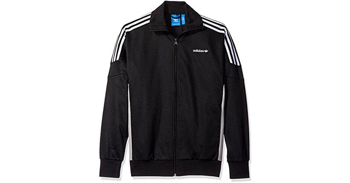 Adidas Originals Black Challenger Track Jacket for men