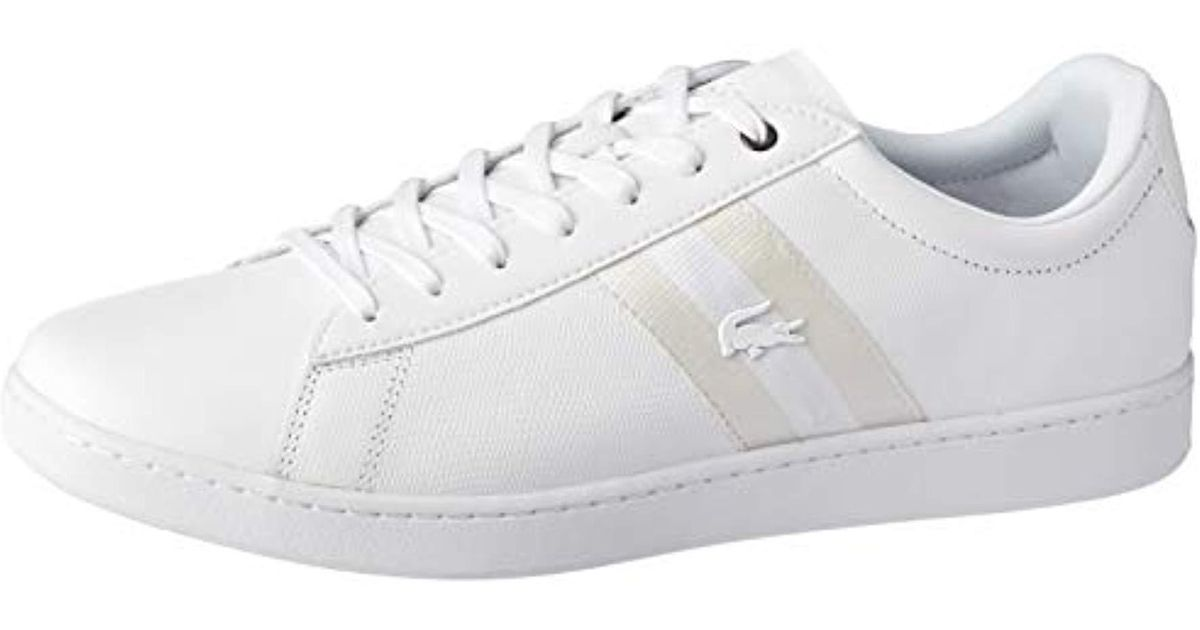 47e63a2db8d1a Lacoste Carnaby Evo 119 5 Sma Trainers White for men