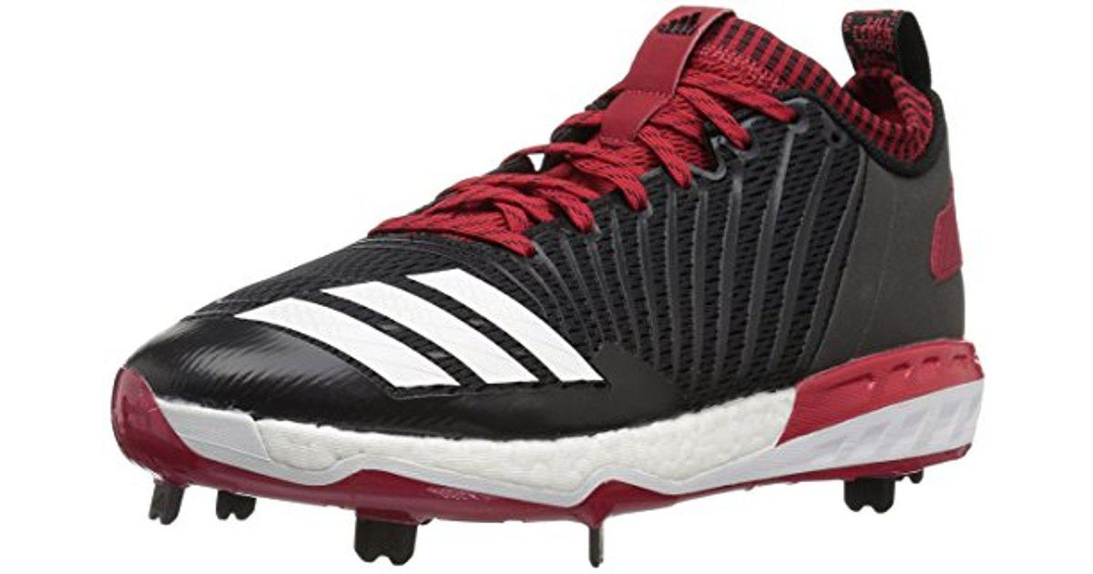 a6ae0cc5905 Lyst - adidas Freak X Carbon Mid Baseball Shoe in Red for Men - Save  16.66666666666667%