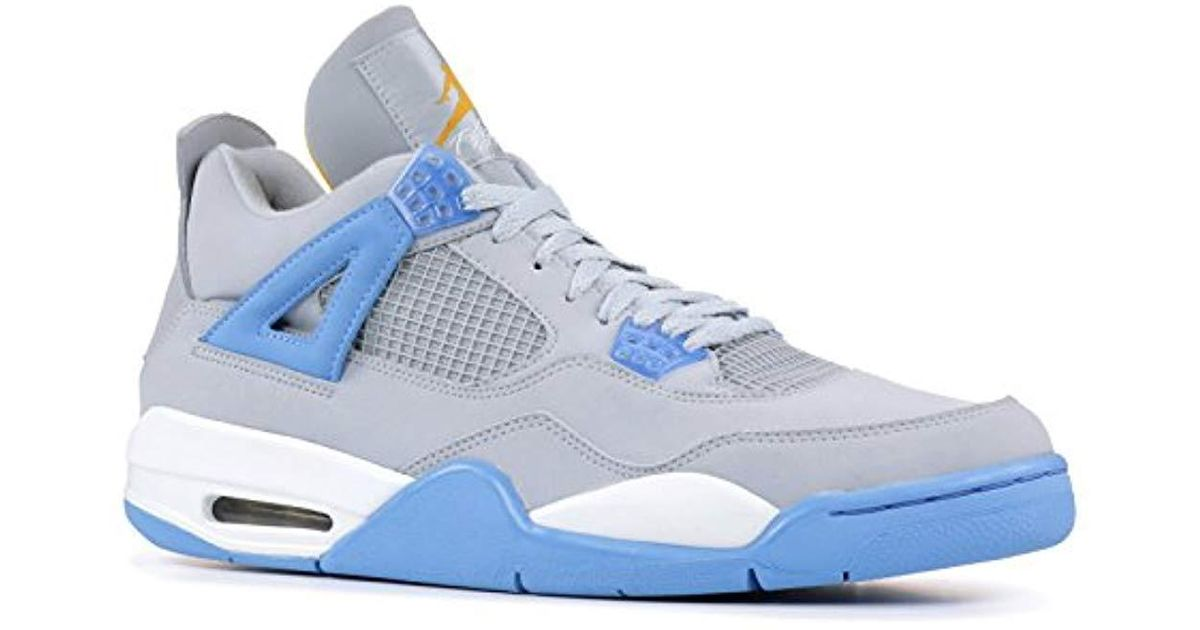 promo code b3473 b09b8 Nike - Blue Air Jordan 4 Retro Ls for Men - Lyst