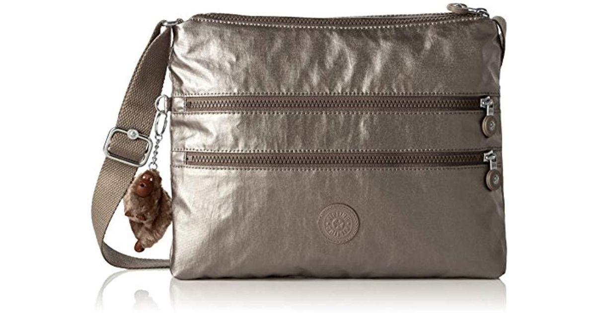 Kipling  s Alvar Cross-body Bag in Metallic - Save 24.0506329113924% - Lyst bf88290402