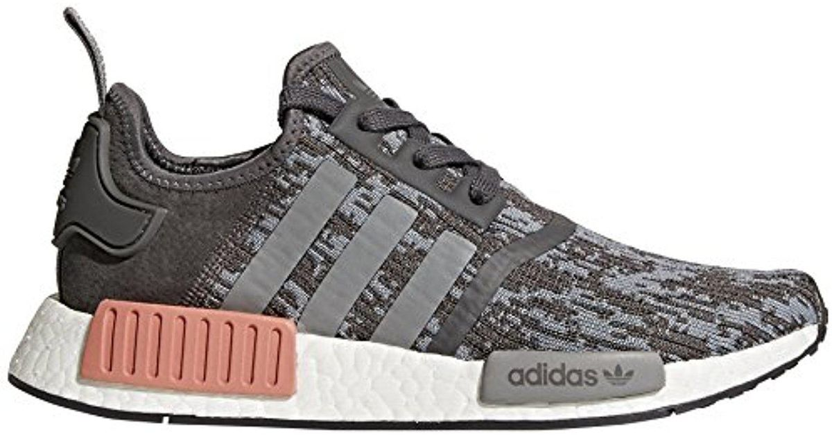 aeb364f4074af Adidas Gray Nmd R1 - By964 for men
