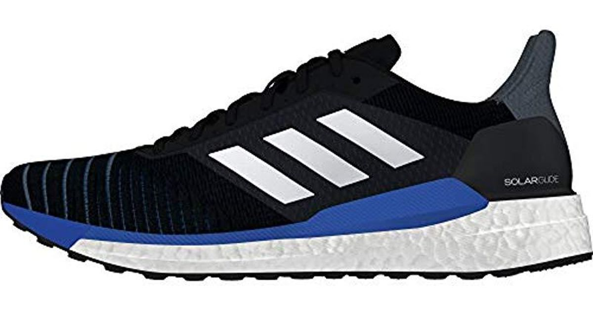 a7a62b63674e7 Adidas Black Solar Glide M Trail Running Shoes for men
