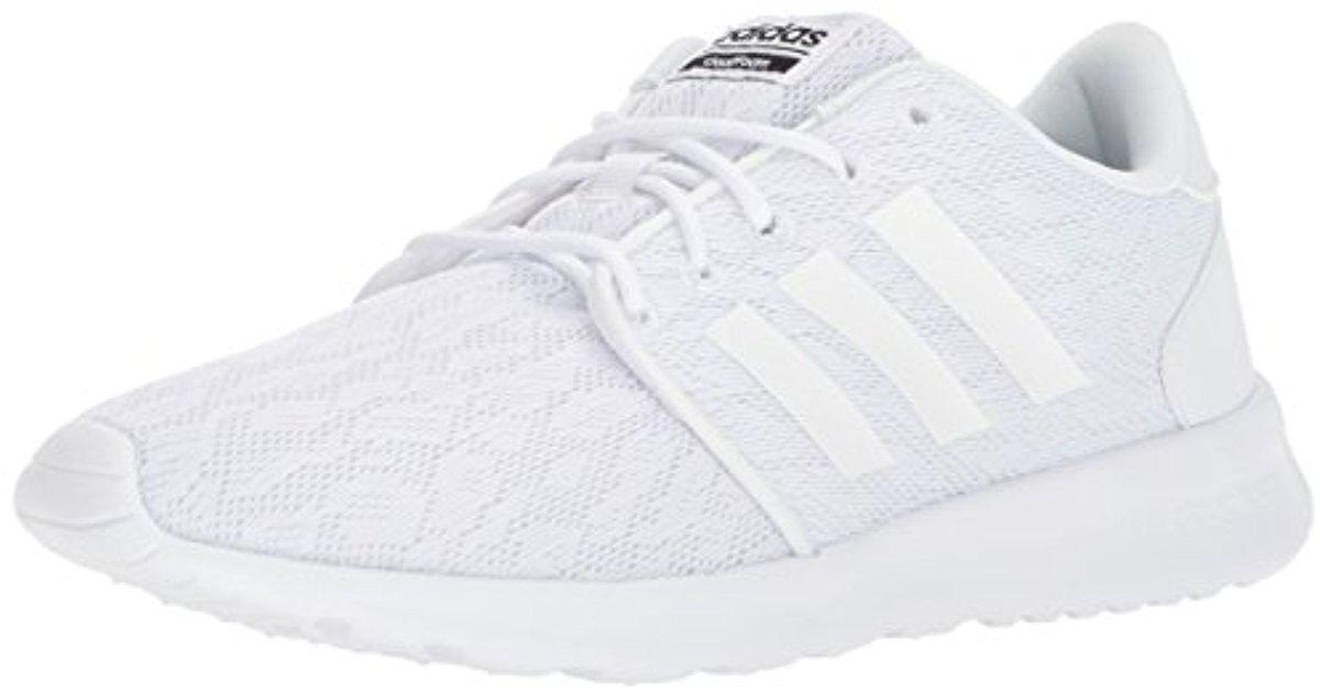 Lyst Adidas CF en Qt Racer W zapatilla en CF blanco 40ebf7