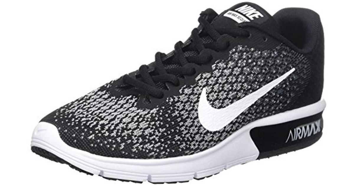 Nike  s Wmns Air Max Sequent 2 Running Shoes in Gray - Lyst 6a876f45f