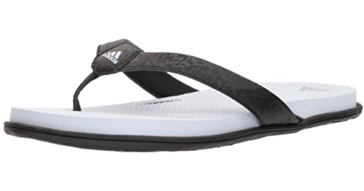 a6bd92877f9b58 ... Lyst - Adidas Cloudfoam One Y W Flip-flop in Black san francisco 23add  918de ...
