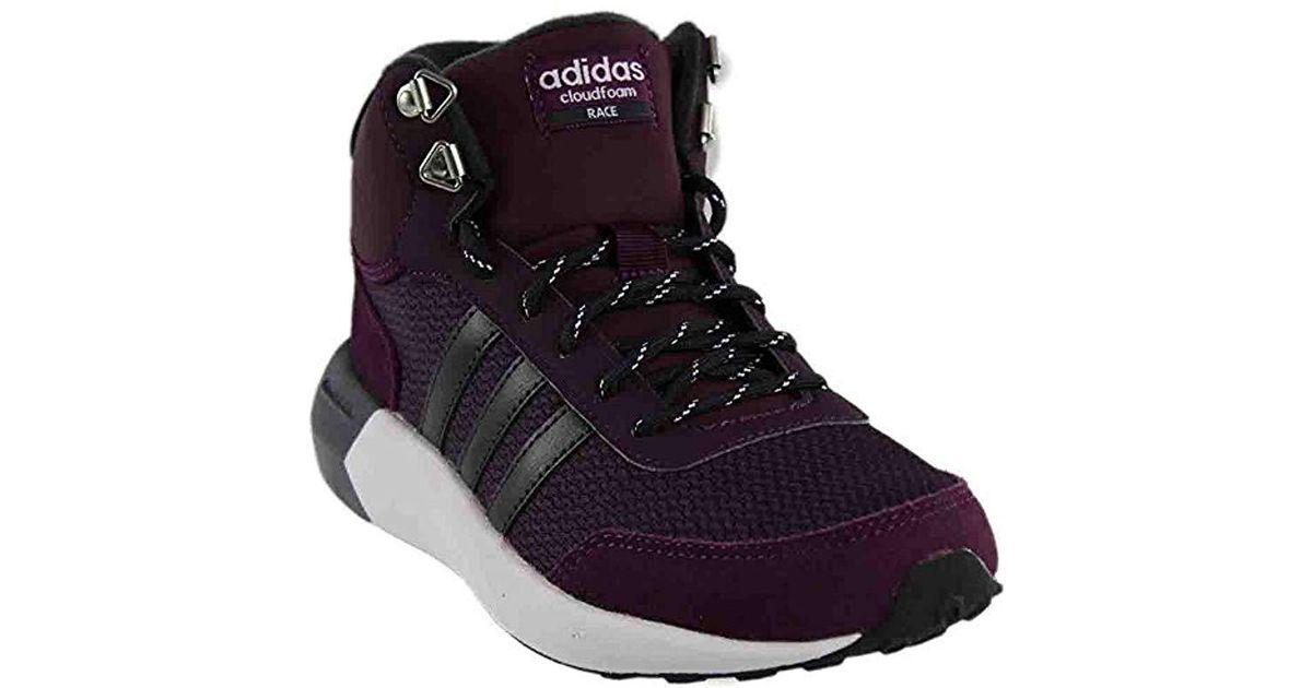 Adidas Multicolor Neo Cloudfoam Race Wtr Mid W Running Shoe