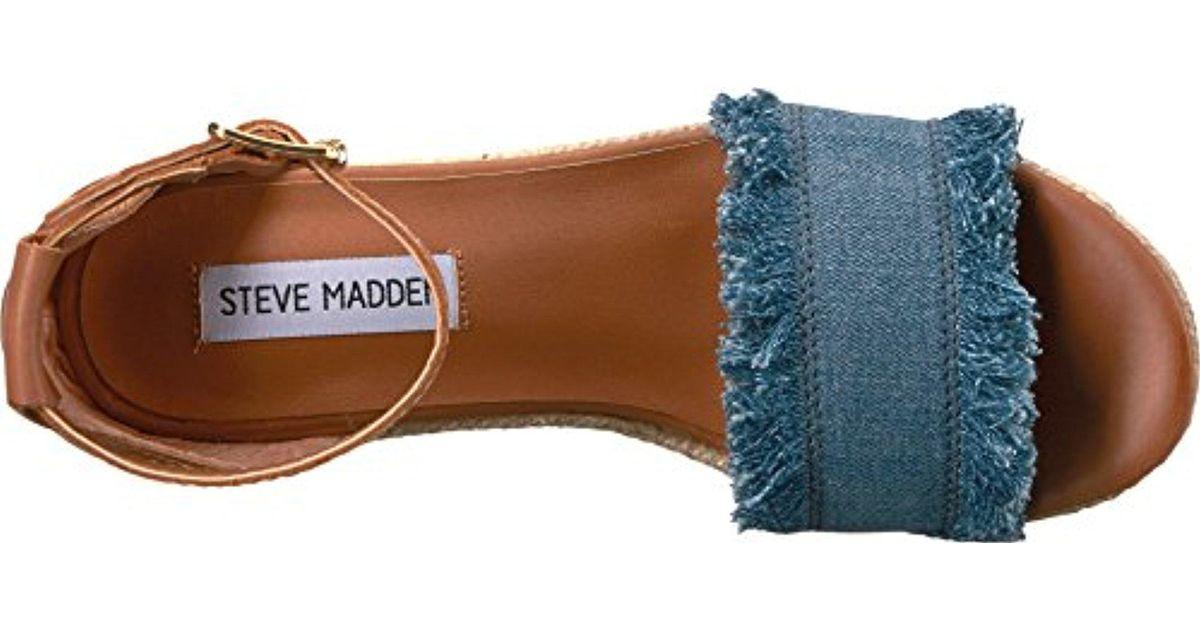 d95f43f2888 Steve Madden Multicolor Valley Wedge Sandal