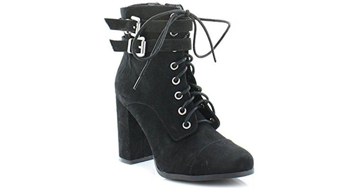 Madden Girl Klaim Ankle Bootie in Black