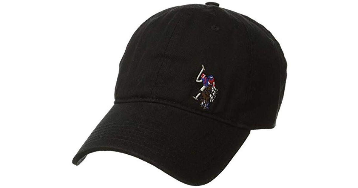 3e644924076 Lyst - U.S. POLO ASSN. Washed Twill Baseball Cap