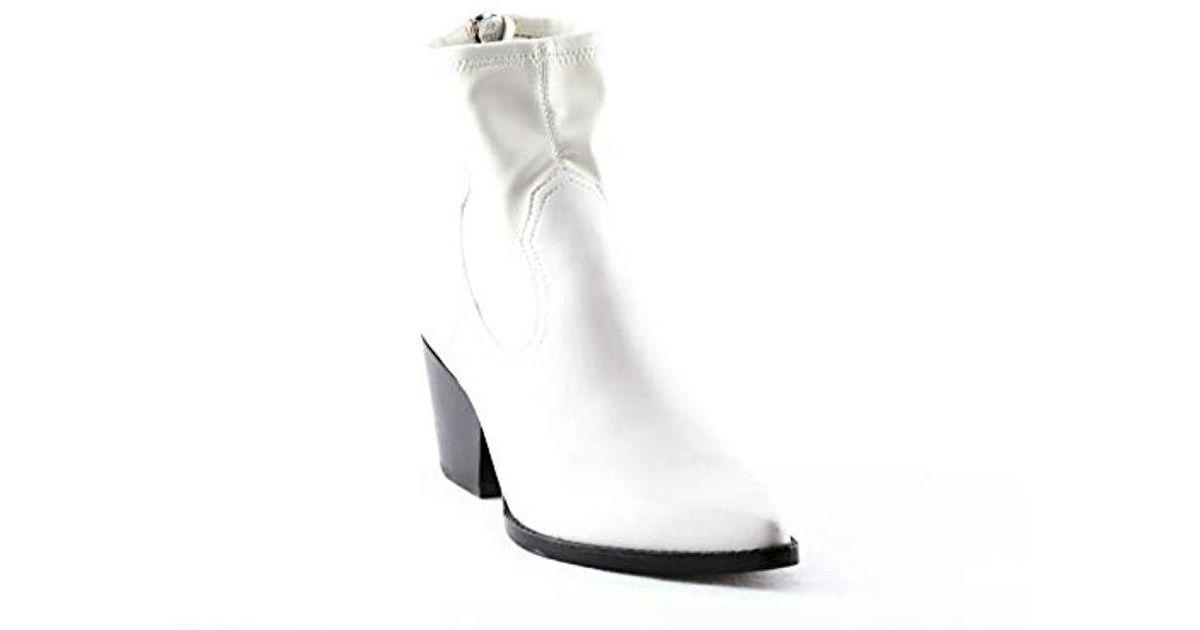 Dolce Vita Shanta Ankle Boot in White