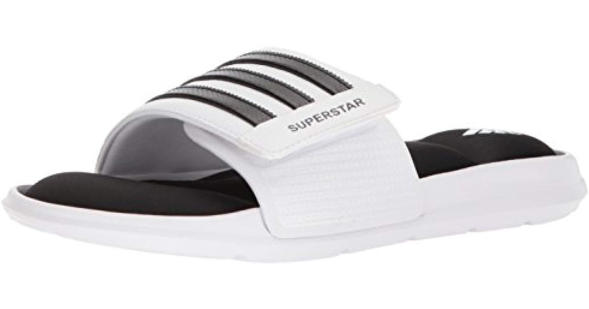adidas Superstar 5g Slide Sandal in