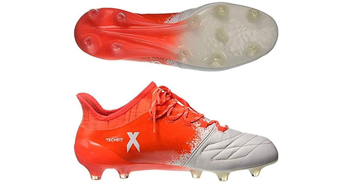 online retailer d8a85 bb3c2 adidas X 16.1 Fg Leather W Football Boots in Red for Men - L
