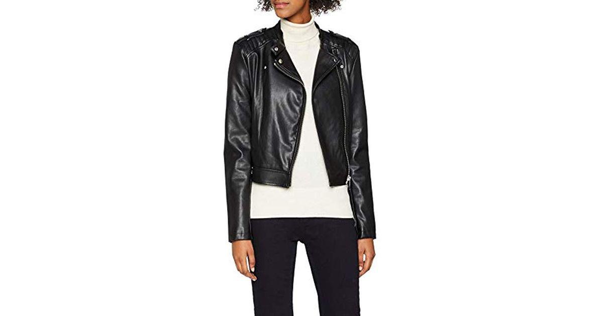 best sneakers 2f7bd bcb55 Guess Black Giubbotti Eleonora Jacket Coat