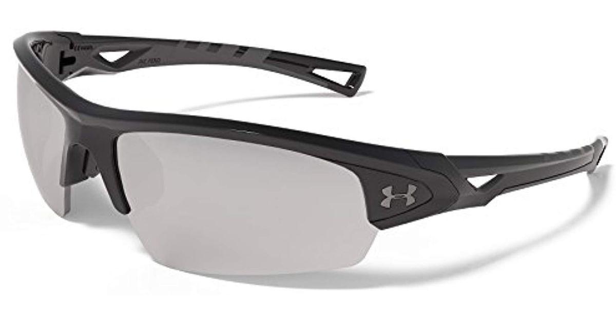 34746e83240 Lyst - Under Armour Ua Octane Wrap Sunglasses in Black for Men - Save  35.08771929824562%