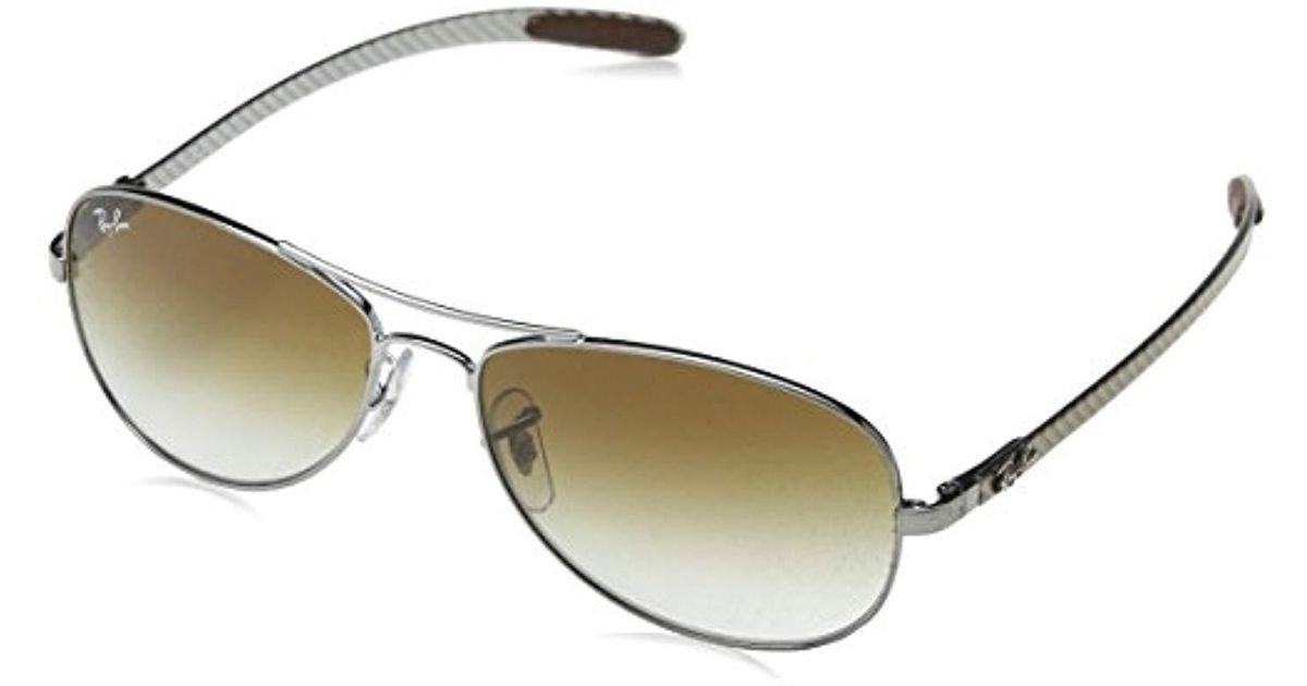 450123e9ea RAYBAN Aviator Gafas de sol Gunmetal 56 para Hombre Ray-Ban de hombre de  color Metálico - Lyst