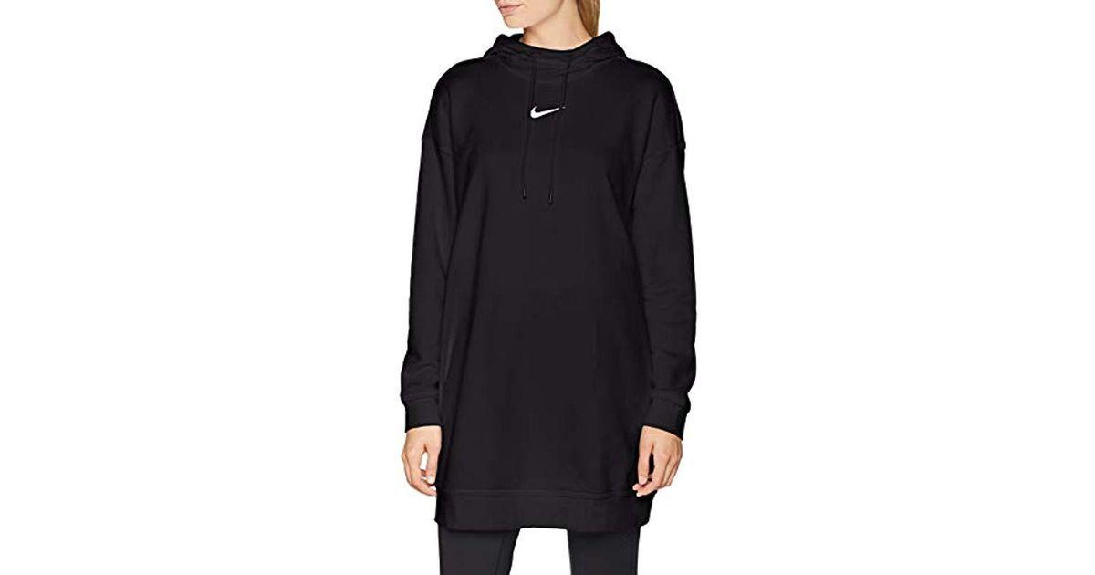 1f66598651a8 Nike W Nsw Swsh Hoodie Os Jumper in Black - Lyst