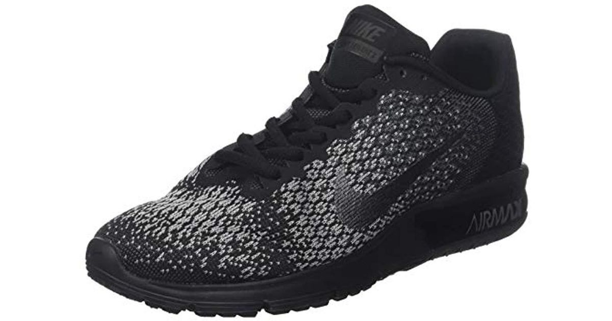 1910b2188ca6 Nike Air Max Sequent 2 Gymnastics Shoes in Black for Men - Lyst