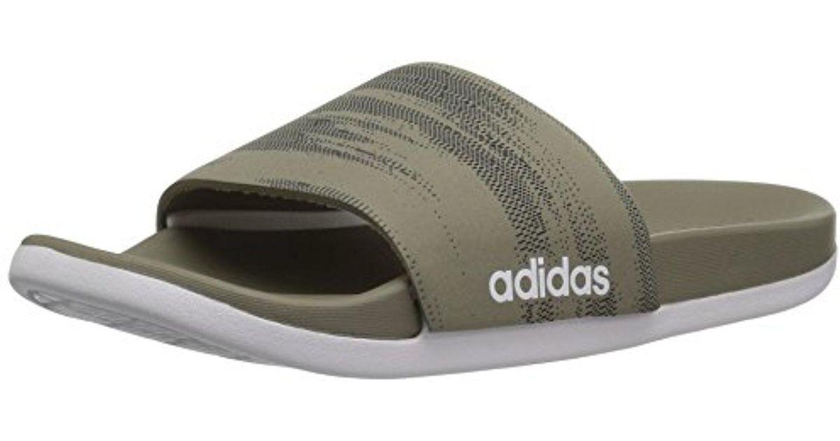 1b044cc1b38220 Lyst - adidas Originals Adidas Adilette Cf+ Link Gr Slide Sandal ...