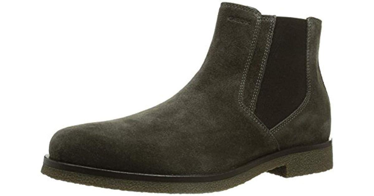 Geox Gray Uomo Claudio, 's Chelsea Boots for men