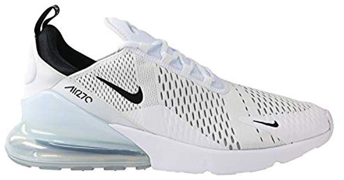 e4550bf0a5560 Nike White Air Max 270 Gymnastics Shoes for men