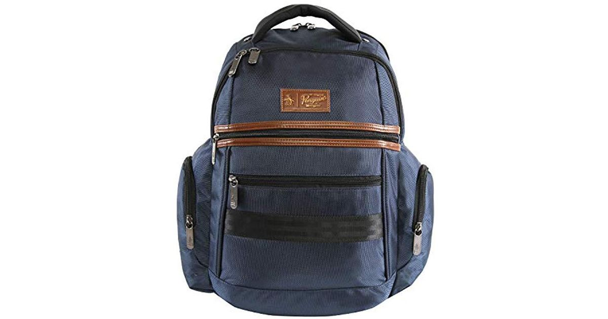 d15c2b74b0a4 Original Penguin - Blue Classics Laptop Backpack Fits Most 15-inch Laptop  And Notebook Backpack for Men - Lyst