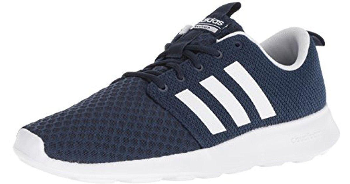 Adidas Blue Cf Swift Racer Sneaker for men