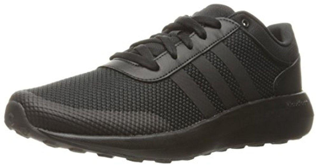 fba31f7255eaa Adidas Cloudfoam Race Running Shoe, Black, 10 D-medium for men