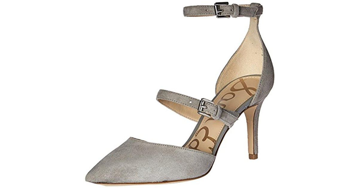 274cc98f3a8c Lyst - Sam Edelman Thea Dress Pump in Gray