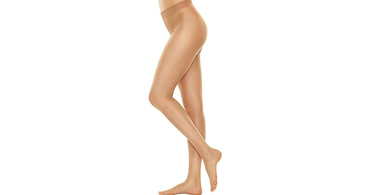 e585e484f6a Lyst - Hanes Silk Reflections Perfect Nudes Sheer To Waist Pantyhose - Save  9%