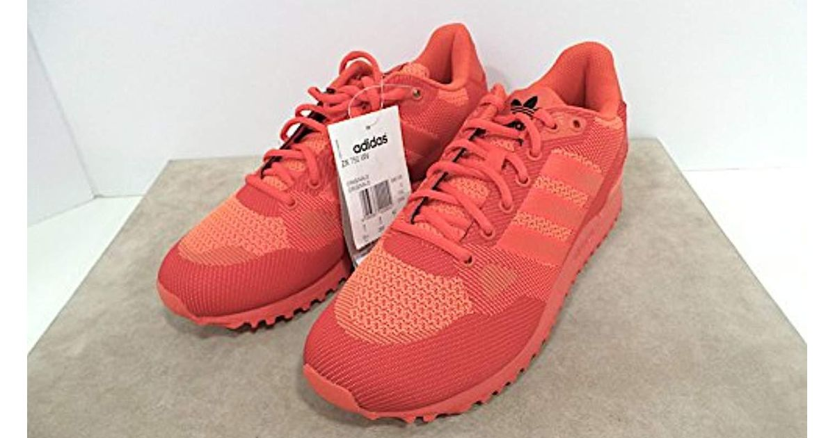 Men Adults' Unisex Zx Red Fitness For Adidas 750 Wv Shoes Lyst 80mNnw