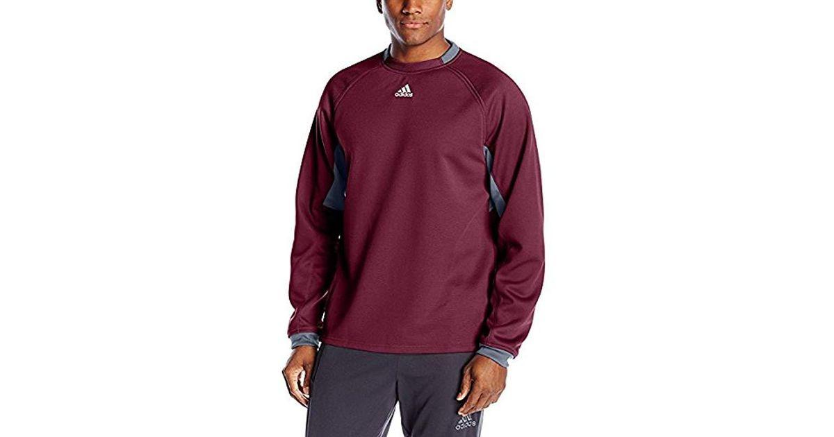 adidas Mens ClimaWarm Fielders Choice Fleece Sweatshirt