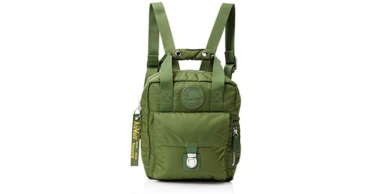 e393045a3930 Dr. Martens Unisex Large Nylon Backpack Backpack in Green - Save 31% - Lyst