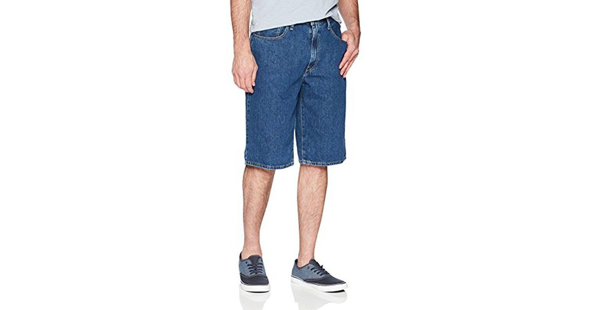 3790604c Levi's Baggy Short in Blue for Men - Save 5% - Lyst