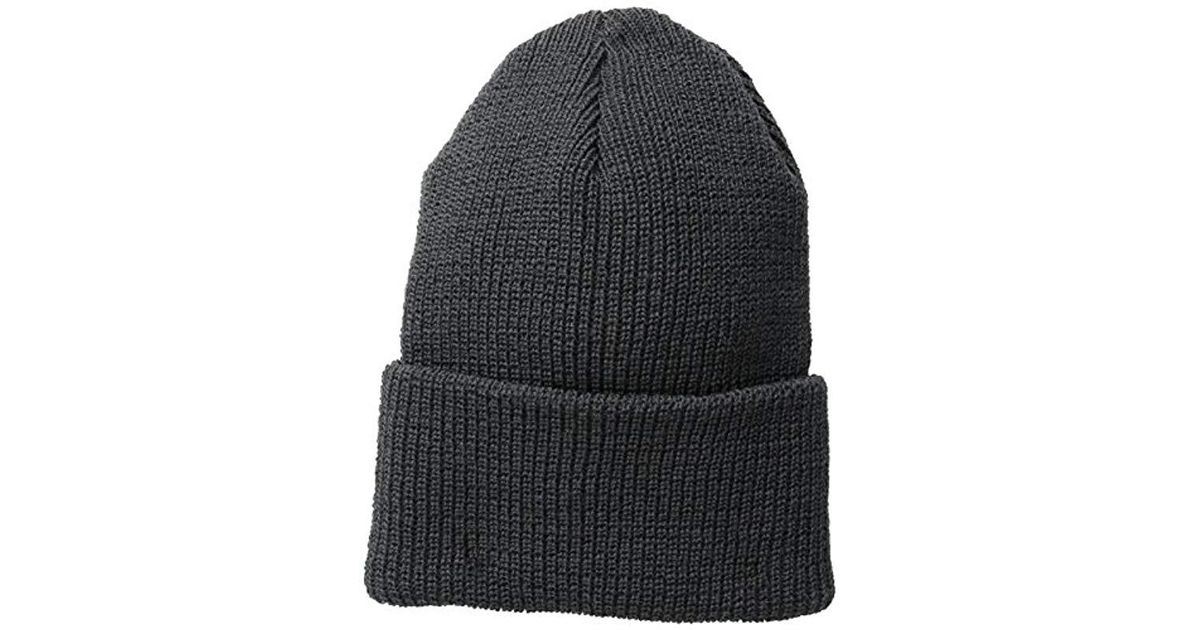Lyst - Wigwam 1015 Wool Ribbed Watch Cap in Gray for Men 7939f89ccaf