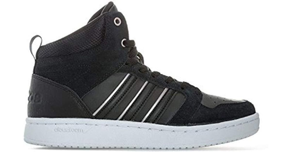 online store 50f5a 3f324 Adidas s Cloudfoam Superhoops Mid Fitness Shoes in Black - L