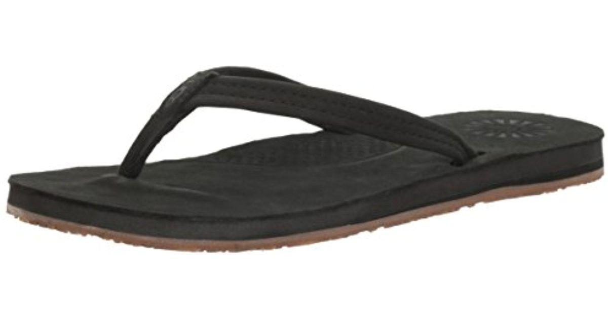 6c036c53d84 Ugg Black Kayla Flip Flop for men