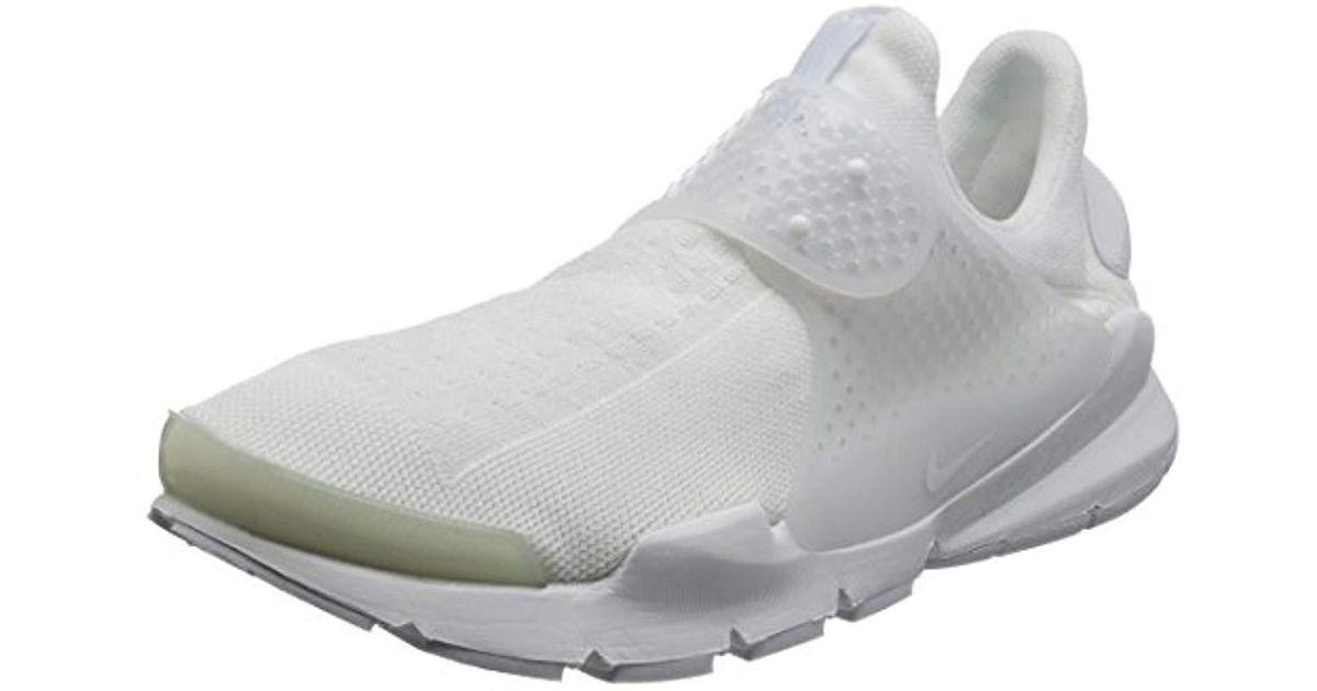 56f041756d3ae Nike - White Sock Dart Running Shoes for Men - Lyst
