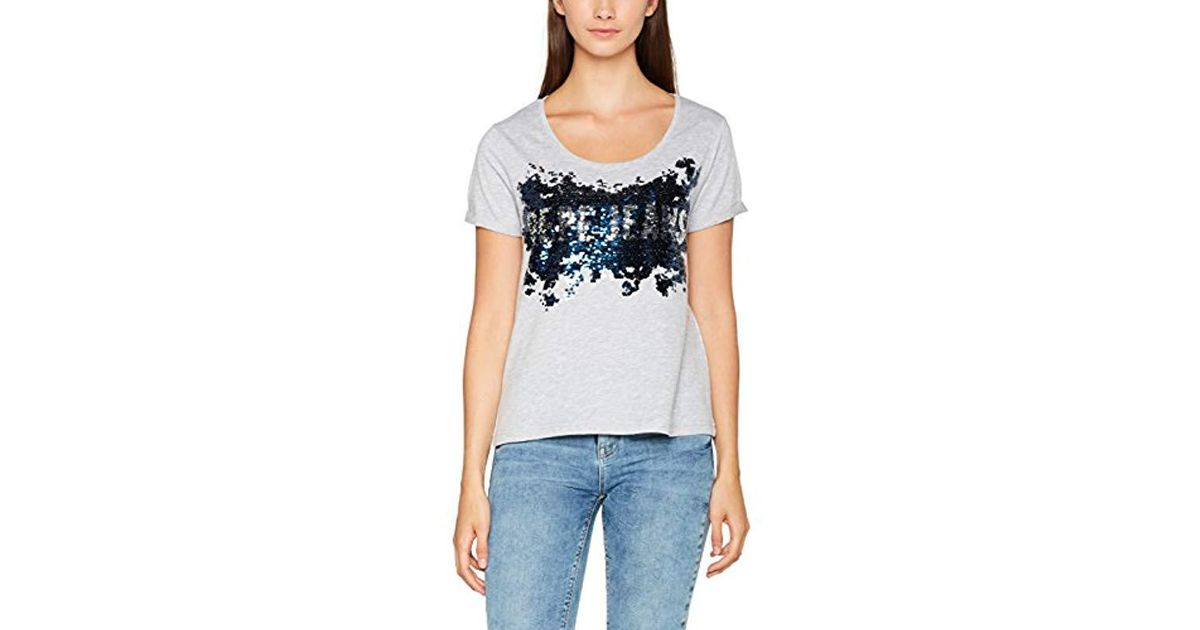 watch 2663d 726c4 Pepe Jeans - Gray T-shirt - Lyst