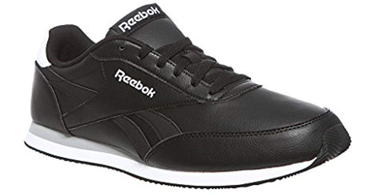 4363b26170f7e Reebok Royal Cl Jog 2l Gymnastics Shoes in Black for Men - Save 43% - Lyst