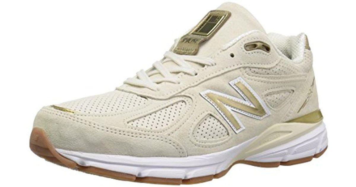 wholesale dealer 9a98c c68e2 New Balance Multicolor 990v4 Running Shoe, Angora/angora, 12.5 D Us for men
