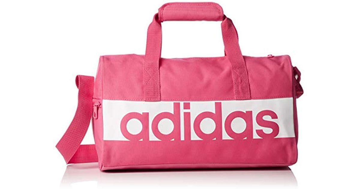 Linear Performance Bolsa de Deporte, Unisex Adulto de color rosa