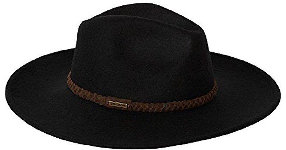 Lyst - Billabong Juniors  Daydreamin Boho Hat in Black 6c45dba5b3c