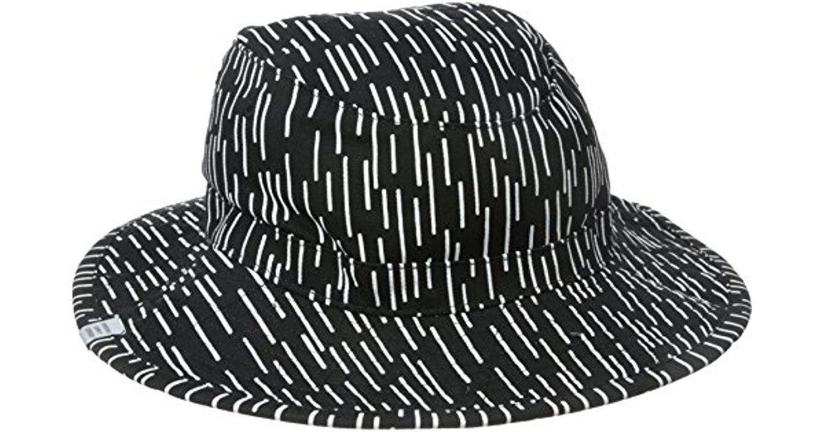 eea852df625 ... new zealand lyst herschel supply co. creek bucket hat in black for men  a1713 caabc