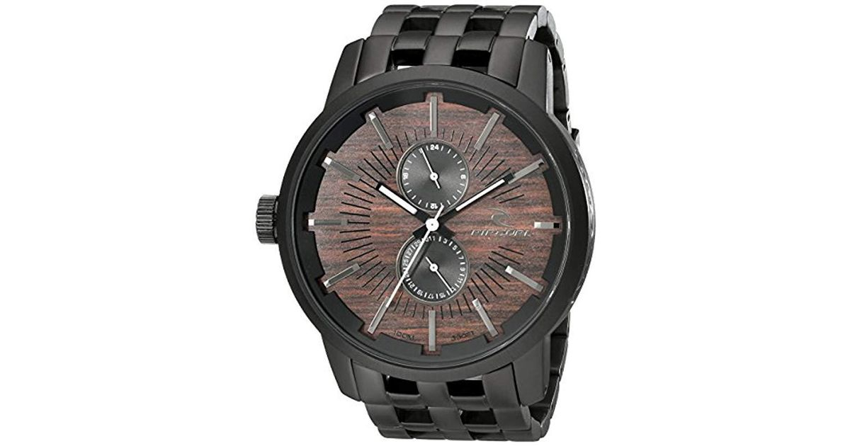 Image result for Rip Curl Men's A2785 Analog Display Black Watch
