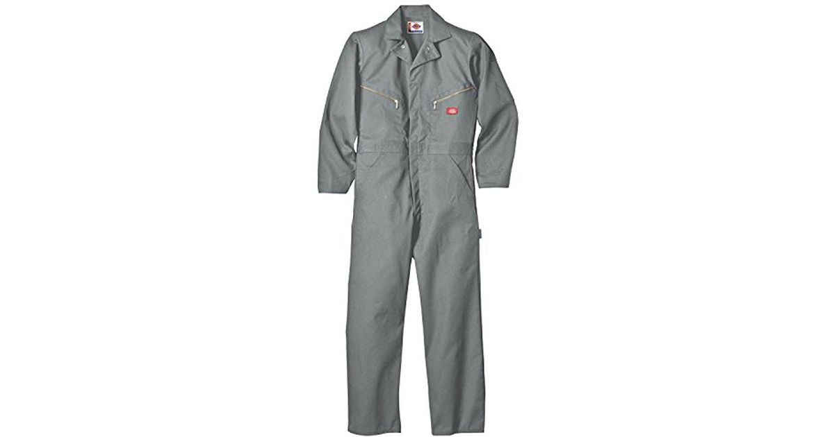 5cbc8d51dc Lyst - Dickies Big-tall Deluxe Long Sleeve Blended Coverall in Gray