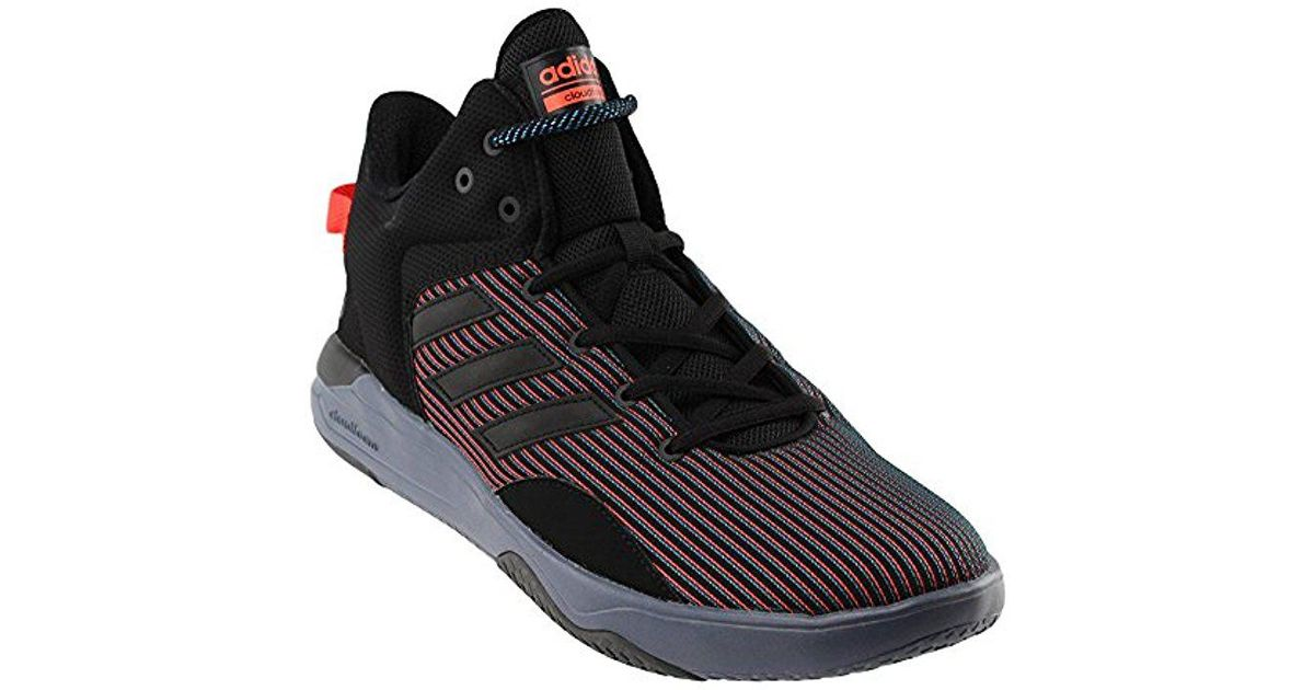sneakers for cheap eee2a eef3f adidas Neo Cloudfoam Revival Mid Basketball Shoe in Black for Men - Lyst
