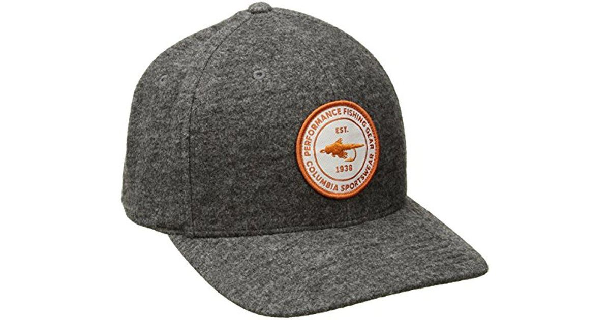 Lyst - Columbia Northern Lake Hat in Gray for Men f30b778b91f