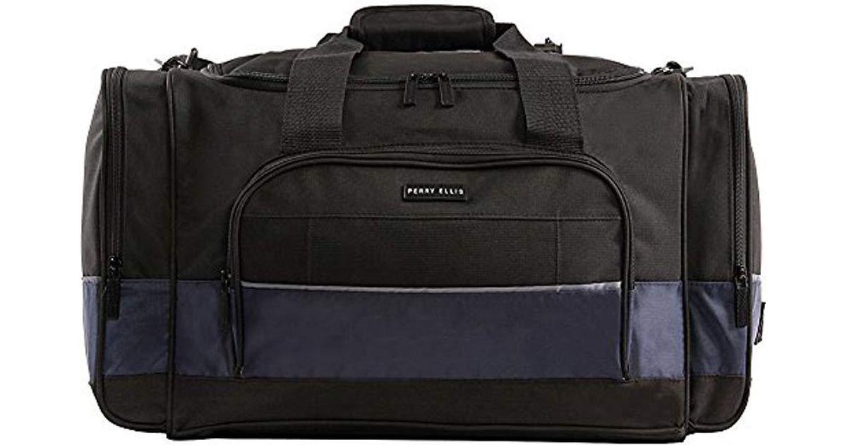 6bd93e3505 Lyst - Perry Ellis Business Duffel Bag Duffel Bag in Blue for Men - Save  17.14285714285714%